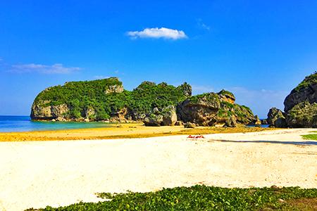 シルミチューの浜