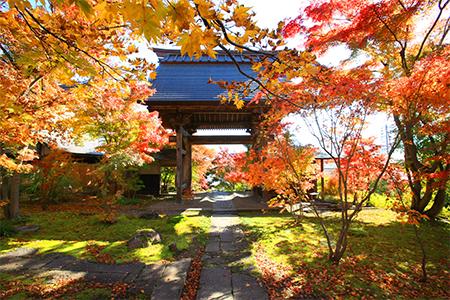 風情を感じる寺社や町並み「雪国の小京都」『市街地』エリア