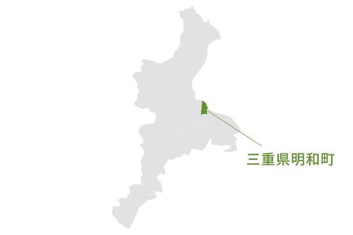 三重県明和町の地図