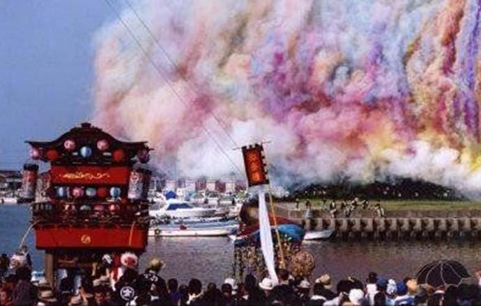 大淀祇園祭と花火大会