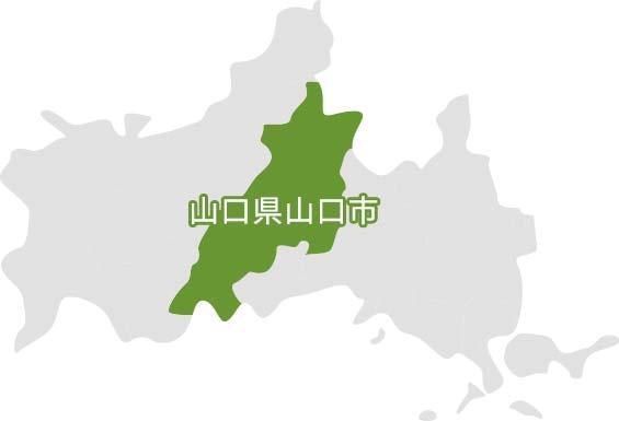 山口県山口市の地図