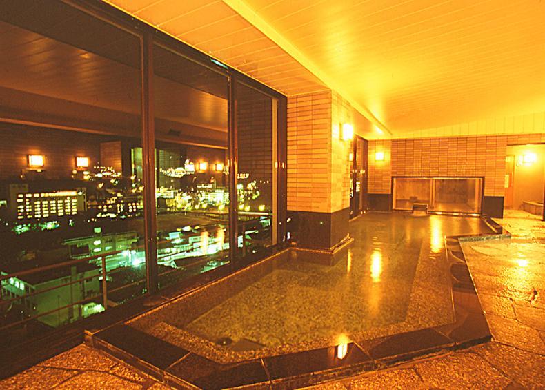 下呂の名湯を満喫でき、展望大浴場は最上階で眺めは最高。