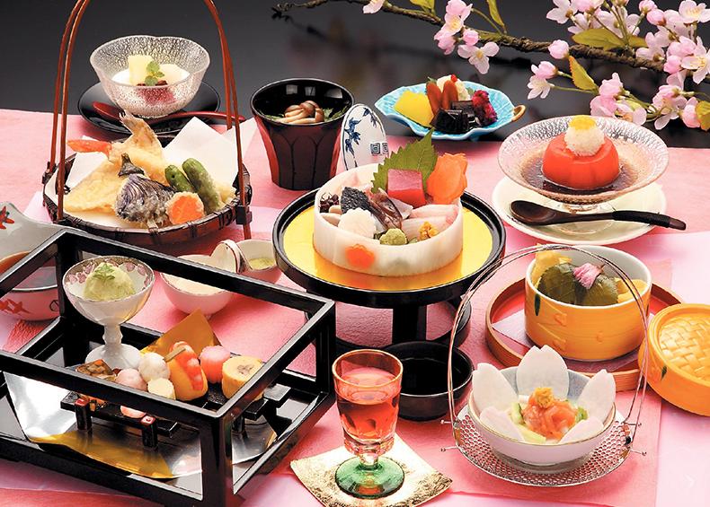 さまざまな趣向を凝らした本物の日本料理を、存分にお楽しみください。