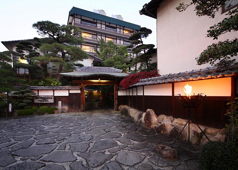 山口・湯田温泉の旅館「松田屋ホテル」。明治維新の志士達も集った、歴史ある老舗旅館。