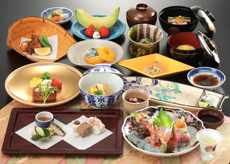 地元食材にこだわった山口の旬の恵みを存分にご堪能下さい。
