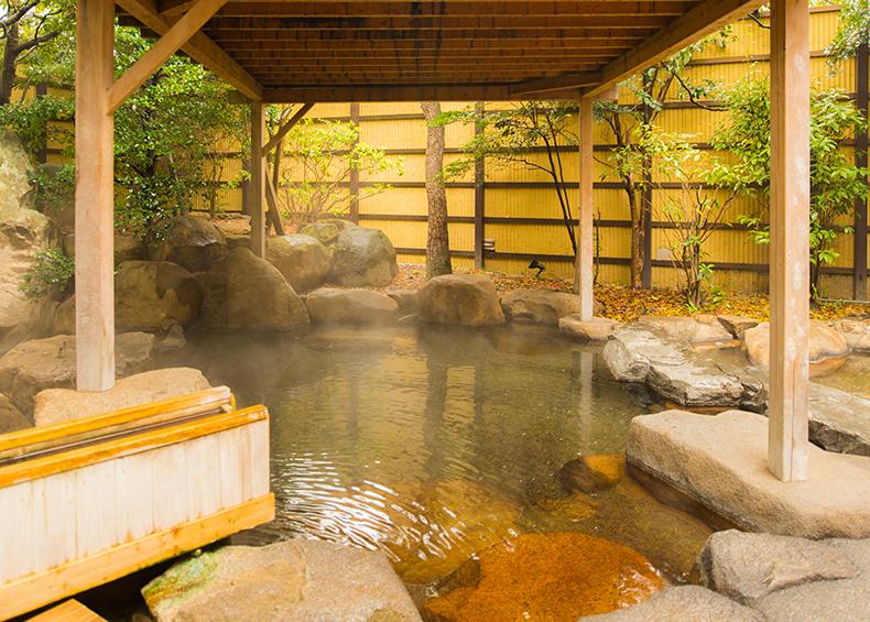 山陽路随一といわれる湯田温泉。
